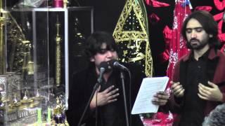 Asad Abbas (Nephew of Hasan Sadiq) - Noha Khwani at Astaana-e-Zehra - 1/3/14
