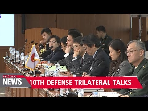 Defense officials from S. Korea, U.S. and Japan reaffirm their commitment to regional security ...