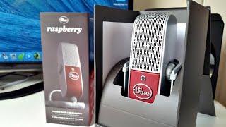 Raspberry Blue Microphone Review - Mini Professional Studio Quality Mic