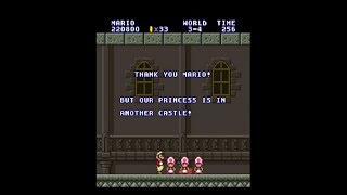 Super Mario All-Stars: Our Princess Is In Another Castle