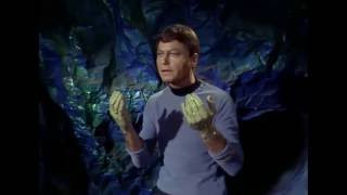 Dr McCoy is a doctor, not a brick layer
