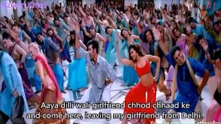 Dilli Wali Girlfriend Hindi English Subtitles Full Song yeh Jawani hai Deewani HD