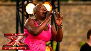 Jennifer Phillips performs Mariah Carey hit | Boot Camp | The X Factor UK 2015