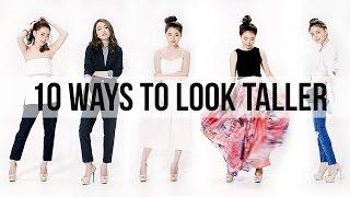 10เทคนิคง่ายๆแต่งตัวยังไงให้ดูสูงขึ้น | Janemakeup