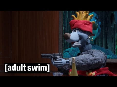 Baloo s secret life before The Jungle Book Robot Chicken Adult Swim