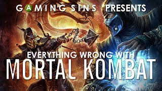 Everything Wrong With Mortal Kombat 9 In 13 Minutes Or Less | GamingSins