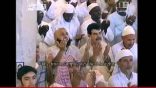 دعاء الشيخ ماهر المعيقلي في الحرم المكي