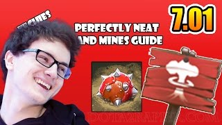 Miracle  Dota 2 7.01 ► WTF Mines Field In Our Base