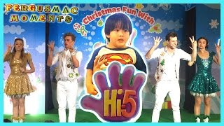 Hi-5 Live Show. A Hi-5 Live Stage Show for Christmas Fun Special for Kids.