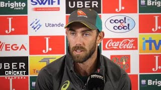Maxwell chats his form and Australia