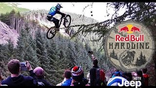 Hardcore Downhill MTB Racing - Red Bull Hardline
