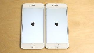 iPhone 6S iOS 9.0.2 vs. iPhone 6 iOS 9.0.2 - Speed Test!