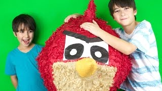 GIANT ANGRY BIRD SURPRISE! - WOW!