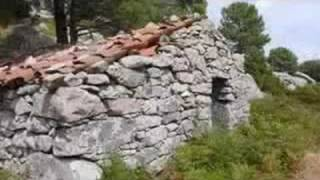 le plateau de Bitazla en Corse du Sud ( sartene cagne borivoli sotta levie carbini quenza )