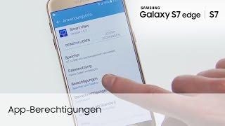 Samsung Galaxy S7 / S7 edge: App-Berechtigungen