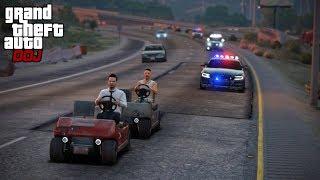 GTA 5 Roleplay - DOJ 168 - Golf Cart Racing (Criminal)