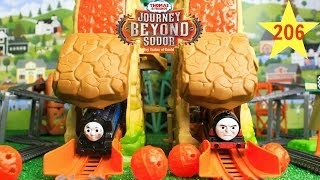 THOMAS AND FRIENDS THE GREAT RACE #206 TrackMaster Journey Beyond Sodor|Volcano Drop Rescue