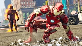 THE FLASH vs IRON MAN!