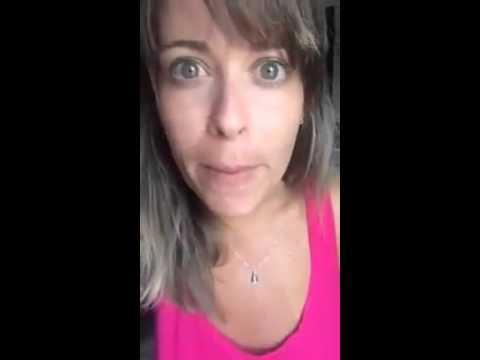 Mulher falando do lula