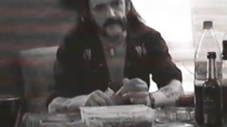 Lemmy at the Skew Siskin Monongo Studio in Berlin