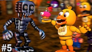 Chica Plays: FNAF World #5 || CHICA'S CHARACTER CHIP