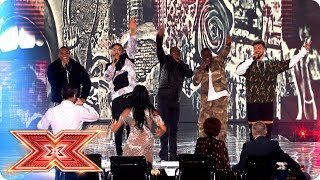 Rak-Su take to the stage with Naughty Boy and Wyclef Jean! | Final | The X Factor 2017