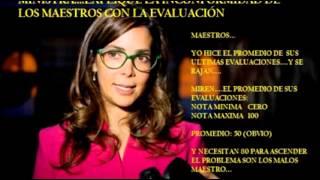 GINA PARODY MINISTRA DE EDUCACIÓN NO SABE QUE ES UN PROMEDIO
