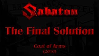 Sabaton - The Final Solution (Lyrics English & Deutsch)