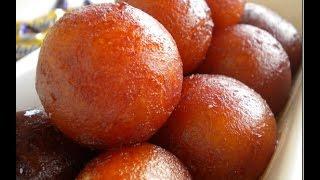 GULAB JAMUN MADE WITH MILKPOWDER RECIPE (SWEET) - A Bengali Delicacy - How To Make Gulab Jamun