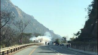 Cash in transit vehicle bombed on N4, Crocodile Gorge, Mpumalanga