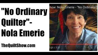 The Quilt Show: Nola Emerie -