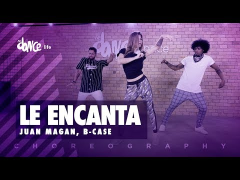 Le Encanta - Juan Magan, B-Case | FitDance Life (Coreografía) Dance Video