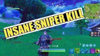 I Hit An Insane Snipe on Fortnite Battle Royale