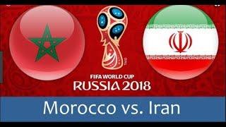 2018 FIFA World Cup - Morocco vs  Iran [Gameplay]