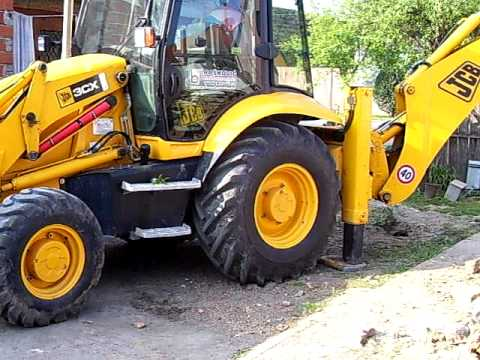 Work with JCB 3CX part 2