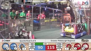 Quarterfinal 6 - 2017 Greater Pittsburgh Regional