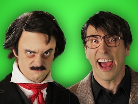 Stephen King vs Edgar Allan Poe. Behind the Scenes of Epic Rap Battles of History.