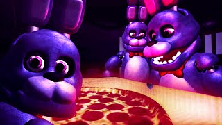 [SFM FNAF] Baby Bonnie takes a bath and gets Pizza