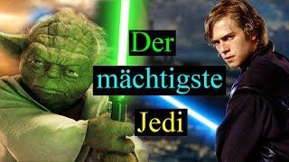 Wer ist der mächtigste Jedi aller Zeiten?!  Star Wars Theorie (Deutsch)