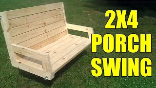 2x4 Porch or Tree Swing - 096