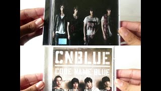 CNBLUE - Code Name Blue + What Turns You on? ( CD Coreano ) - Unboxing CD en Español