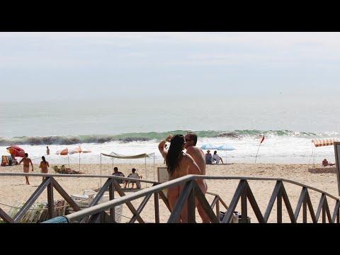 Praia do Pinho SC Exclusivas com adeptos do Naturismo