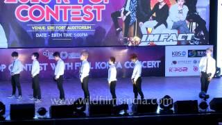 Frozen Crew from Mizoram - Gold Winner in K Pop dance category