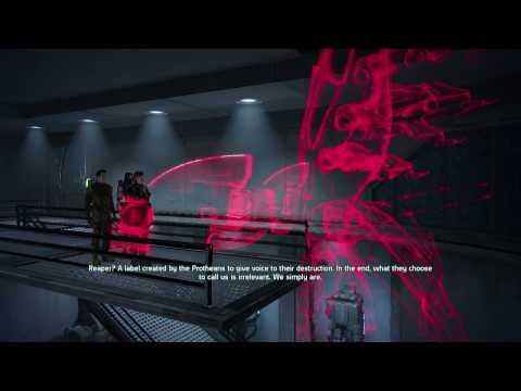 Jenn Mass Effect HD 43 - KIrrahe's Speech -  Sovereign - Virmire B