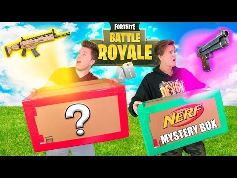 9 999 NERF FORTNITE EBAY MYSTERY BOX 📦❓Fortnite Gear NERF Toys & More