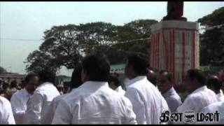 TamilNadu CM Hon'ble J Jayalalithaa paid respects to anna - DINAMALAR