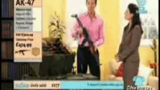 AK-47 sale on Home shopping network