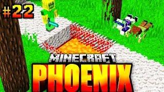Die LAVAFALLE SCHLÄGT ZU?! - Minecraft Phoenix #022 [Deutsch/HD]