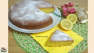 Torta sofficissima al limone | Divertirsi in cucina
