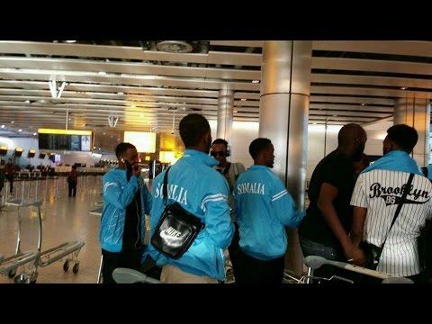 Kooxda Somali United oo ka dhoofay London by Maxamed Cumar Sh  Aadan